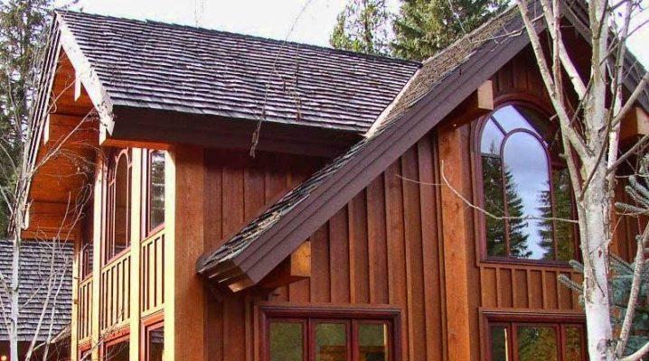 отделка дома древесиной