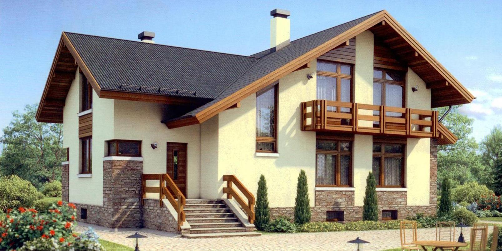 Наружная отделка фасада дома: виды материалов, преимущества, как выбрать