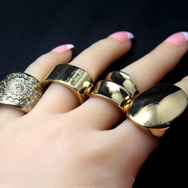 Модные кольца 2021