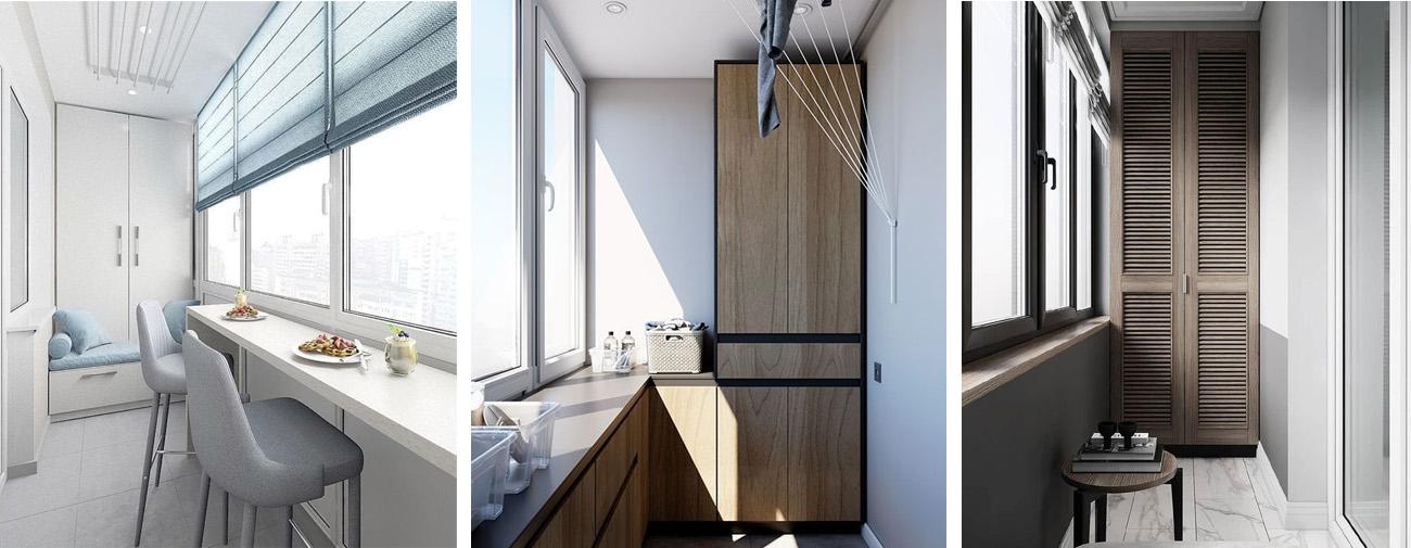 Шкаф-купе для балкона – на что обратить внимание при покупке?