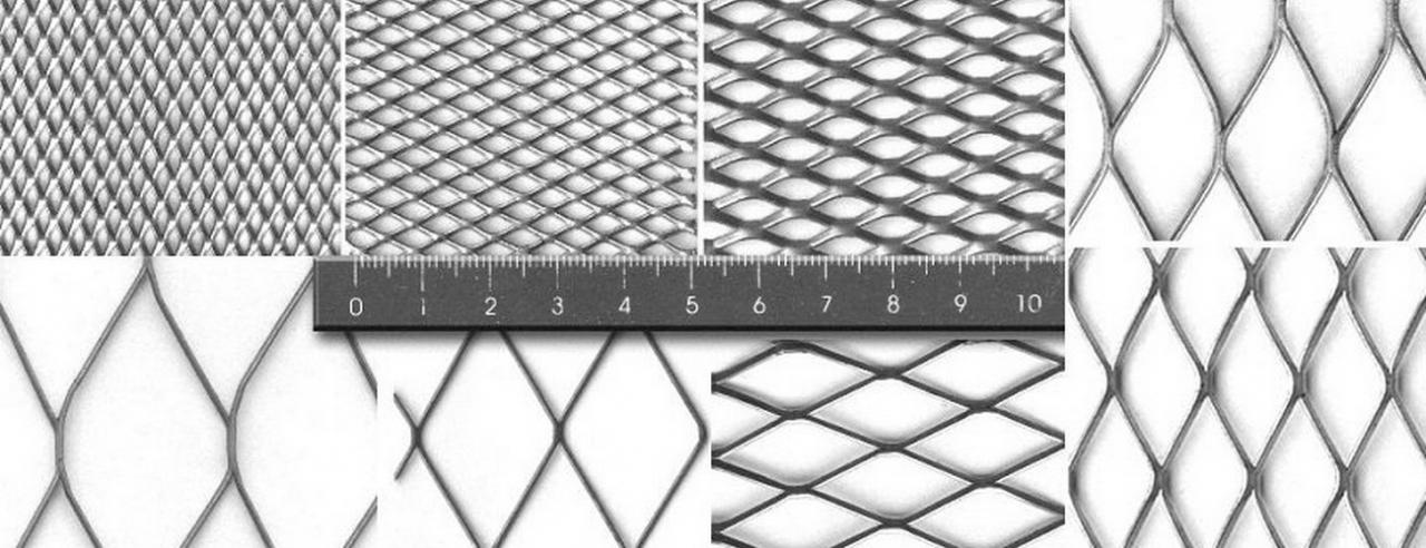 металлическая сетка просечка