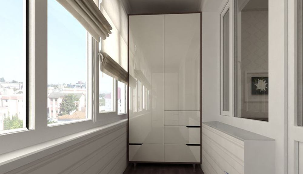 Критерии выбора шкафа-купе на балкон