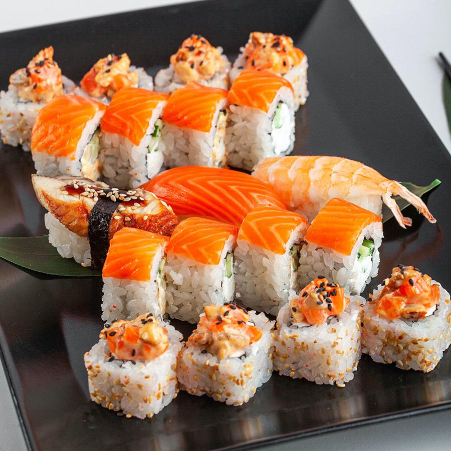 Ресторан Суши Мастер в Хабаровске - вкус Японии в каждом доме